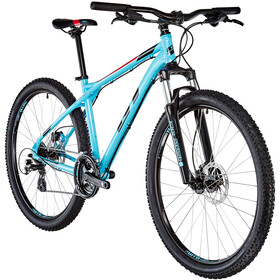GT Bicycles Aggressor Expert, gloss aqua blue/black/red